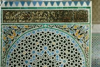 Traditional tile mosaics are a beautiful way to bring Moroccan style into your home.