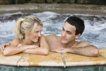 Hot tubs require weekly maintenance to stay clean and balanced.