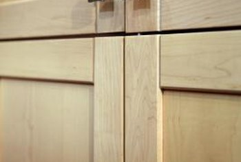How to Make Shaker Cabinet Doors From Old Flat Fronts | Home ...