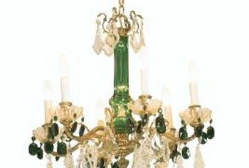 A chandelier doesn't have to be formal or grand to be beautiful.