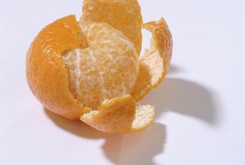 Orange peel smells good to humans but not to cats.