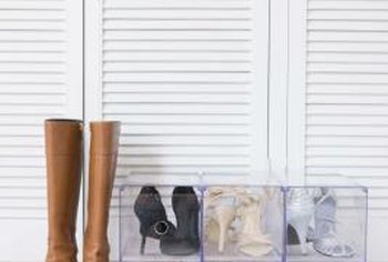 Keep children out of your well-organized closet by installing a lock.