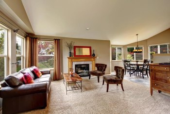 Neutral carpet colors offer a safe choice, especially if you get different furniture in the future.