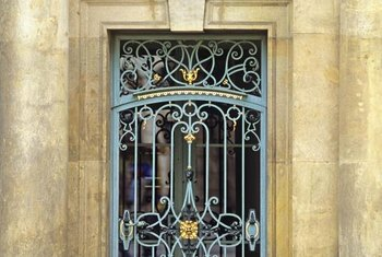 The right color choice turns wrought iron into a classy feature.