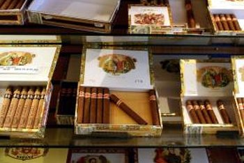 Wood is the most common material used to make cigar boxes.