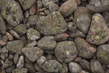 Landscape stones come in varied sizes and shapes.