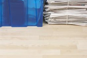 Allure vinyl flooring can look deceptively like real wood.