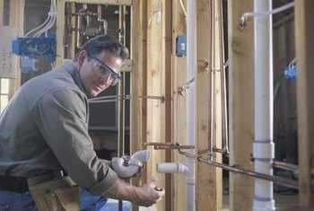 Insulating your pipes for energy savings.