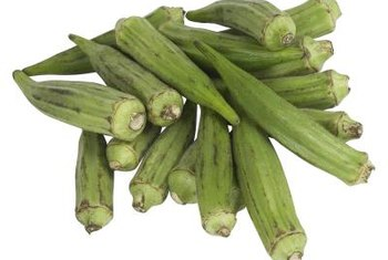 Include okra in your container garden and enjoy its large flowers and bright green foliage.