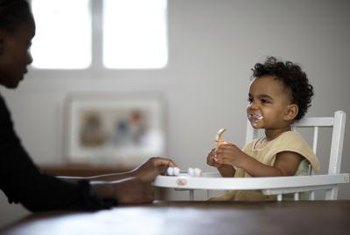 Let your baby dictate when he's full at mealtimes.