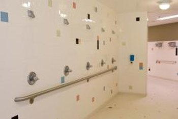 Tile shower walls need a layer of backerboard installed first.