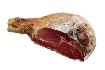 Gammon comes from the hind leg of a pig.