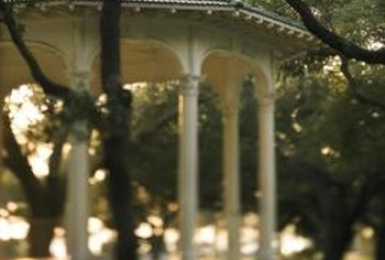 Locate a gazebo in a wooded area for more privacy.