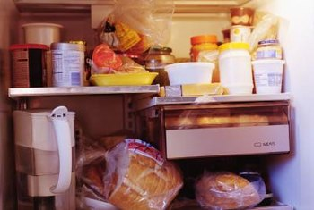 Unclutter your refrigerator by storing some foods in a small chest freezer.