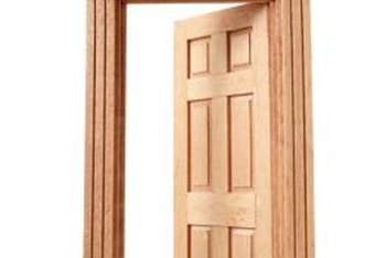 Staining the door jamb is an integral part of refinishing a door.  sc 1 st  Home Guides - SFGate : staining door - pezcame.com