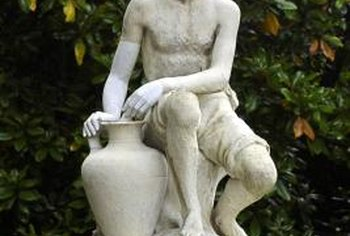 Select statuary to create a specific theme in your garden.
