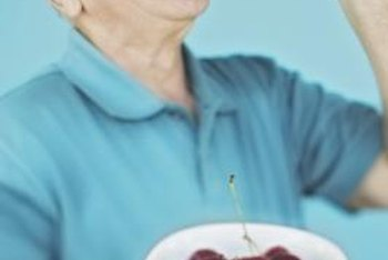 It's important for seniors to eat at least 5 or 6 times daily to gain weight.