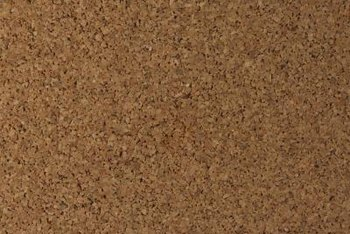 Cork underlayment is available at flooring supply outlets and some home centers.