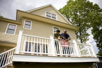 First-time buyers may face competition when competing for distressed property.