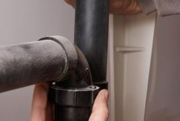 Most home drain pipes have an access point for maintenance.