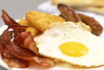 Bacon is a breakfast staple, but it is high in saturated fat, which can raise your blood LDL level.