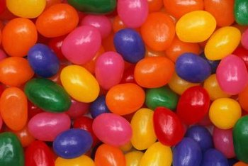Jellybeans don't supply anything in the way of vitamins and minerals.