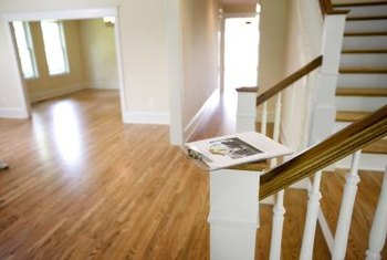 Stairs can use carpet, tile or hardwood.