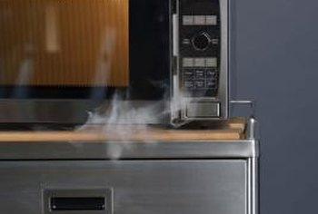 Trying to repair a failing microwave yourself can pose a serious risk of fire or electrical shock.