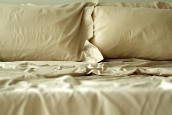 Bedding can house bugs and bacteria.