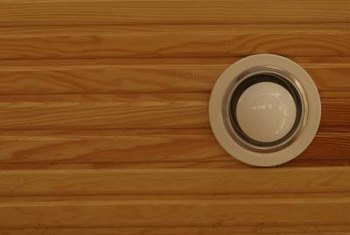 The trim is the visible part of a recessed light fixture.
