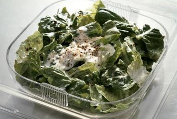 Use ranch dressing sparingly to avoid consuming too much fat.