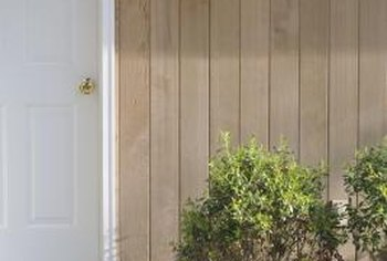 Plywood panel siding is economical and available in various styles.