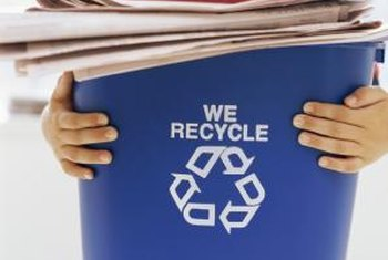 Nearly 40 percent of recycled paper was exported in 2010. (References 7)