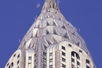 A stainless steel sink and the Chrysler Building have something in common.
