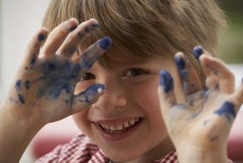Modern paints contain no lead and are safer for children.