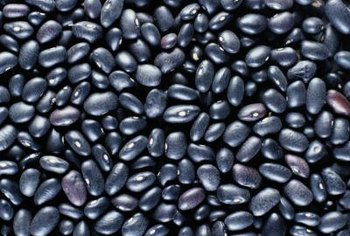 Legumes include black, pinto, navy and soy beans.
