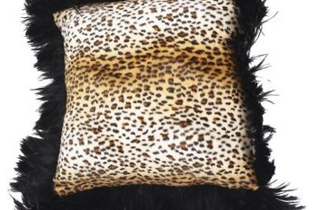Stitch up your own glamorous fringed pillow.