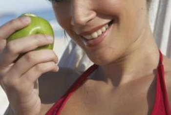 Whole apples are a better choice than applesauce for diabetics.