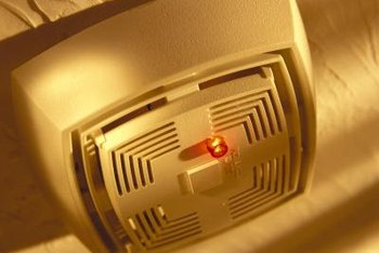 Smoke detectors provide the early warning that saves lives.