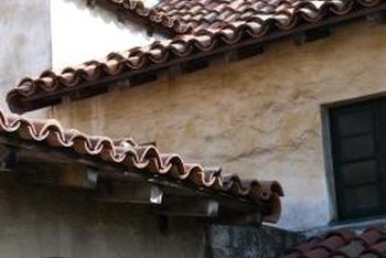 How To Clean Weeds From A Tile Roof. Walking On Roof Tiles Can Crack Them.