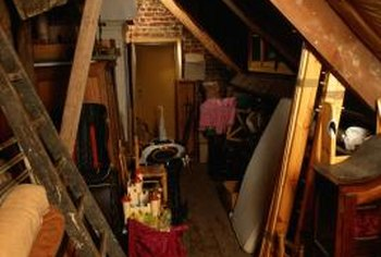Attic space can be converted for a variety of uses.