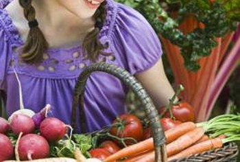 Nutrient-rich soil produces nutrient-rich vegetables.