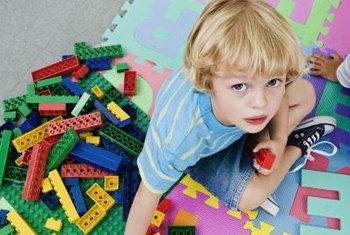 LEGO brick decor is limited only by the imagination or brick quantity.