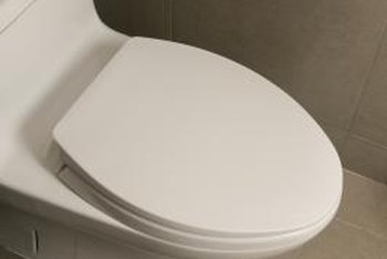 Peel And Stick Tile Can Go Right Up To The Edge Of The Toilet