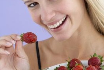Alpine strawberries are available in red and cream-colored varieties.