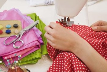 Use a sewing machine or no-sew tape to hem curtains to the perfect length.