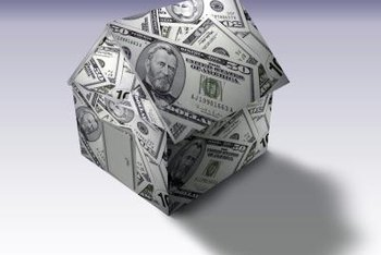 A loan may be issued against the value of your home.