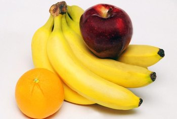 Apples, oranges and bananas contain fermentable carbs.