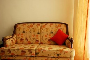 New upholstery could give an old couch a new look.