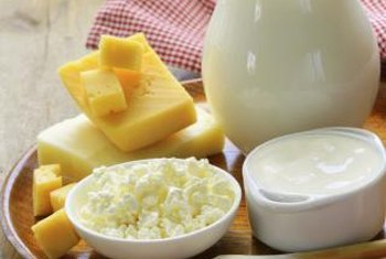 Most dairy foods contain disaccharides.